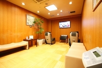男性大浴場 休憩室