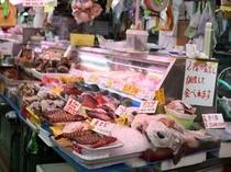 色とりどりの魚達 公設市場②