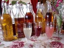 果実酒グラス2