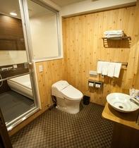デラックスツイン(1~2名)バスルーム