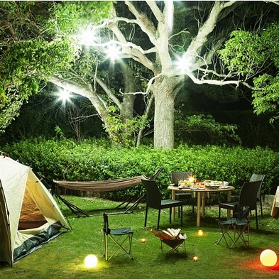 【1日1組限定】オリビアンでグランピング★フォトジェニックな非日常体験!贅沢にキャンプを楽しもう♪