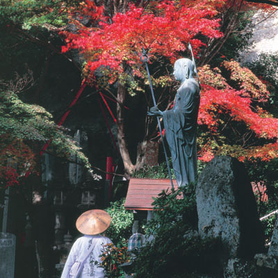 紅葉とお遍路■