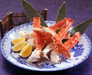 蟹の王様!北海道直送『たらば蟹』!本館貸切風呂付き日帰り休憩プラン ♪
