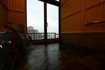 新館特別室【くつろぎの間】岩造の展望風呂