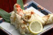 料理一例(たらば蟹)