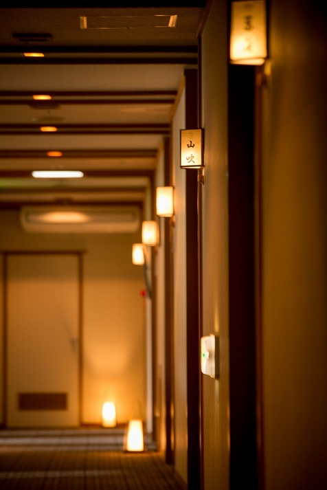 全9部屋の客室。落ち着いた館内で過ごすして頂けます。