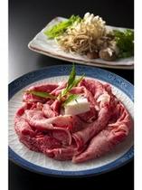 近江牛のすき焼き  日本三大和牛の近江牛★ まろやかでコクがあります♪