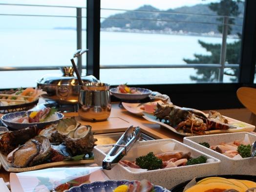 【テラスBBQプラン・デラックス】露天付客室&海一望のBBQ専用テラスで海鮮&焼肉バーベキュー