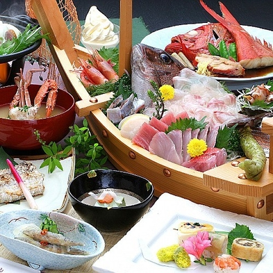 《アクティブ》船で渡って海上釣り堀『太公望』&釣ったお魚でご昼食プラン【3食付き】【伊豆箱根】