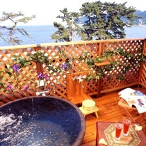 客室露天風呂 洋室