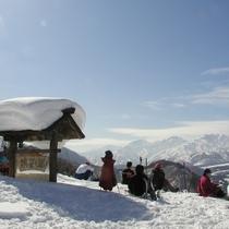 小谷村 眺望の郷(冬)