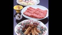 *松茸&伊賀牛のすき焼き(一例)