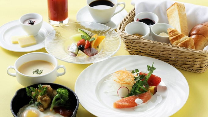 季節を愉しむホテル朝食を「北海道づくしのモーニングフルコース」/朝食付