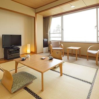 錦江湾を望む和室6畳+広縁 禁煙(Wi-Fi無料)