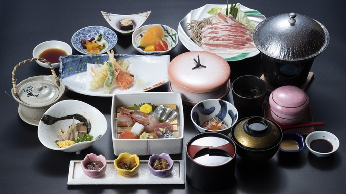 【平日限定】【個室でご夕食】ご家族やお二人だけでゆったりご夕食プラン