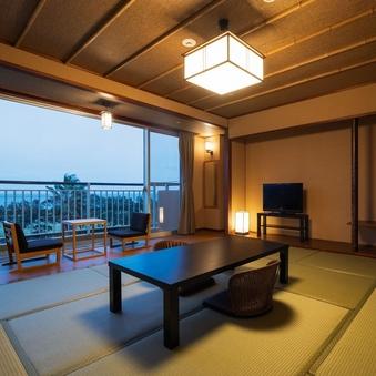 錦江湾を望むシャワーブース付和室10畳禁煙(Wi-Fi無料)