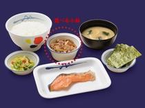 「松屋」食券付き☆焼魚定食