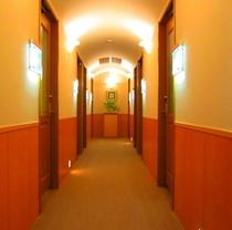 ビジネスプライベート廊下