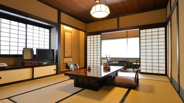 【楓の間】 純和室12畳 民家のお座敷をイメージしたお部屋