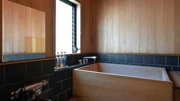 【霧・霞】 松本の蔵座敷風、檜内風呂付きのお部屋