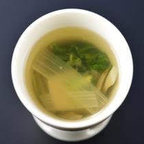 夕食一例〜椀・春野菜の椀