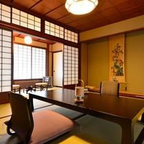 【松】松本民家の奥座敷・純和室10畳(2名様〜4名様用)