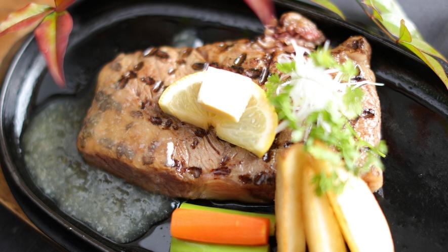 【上州牛サーロインステーキ 4,500円(税別)】