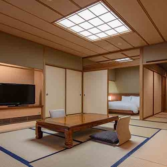 【佳松亭】 四ツ星 特別室 クイーンサイズベッド <部屋食>