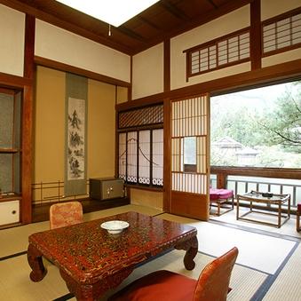 【山荘】登録文化財 標準客室(8畳和室)<会場食>