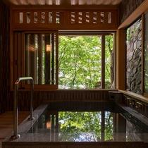 《2017年7月リニュ―ル》【山荘・ 五ツ星 角部屋 和洋特別室(半露天風呂付)】