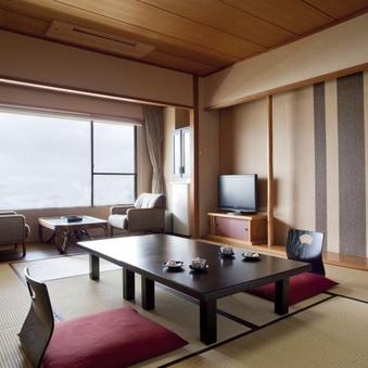 海の見える基本客室【食事会場:レストラン】