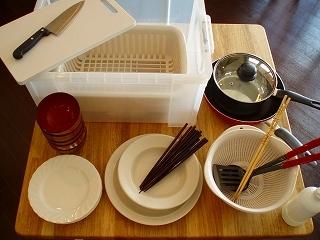 調理器具レンタルセット¥1,000