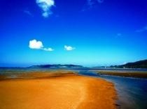 名蔵湾河口