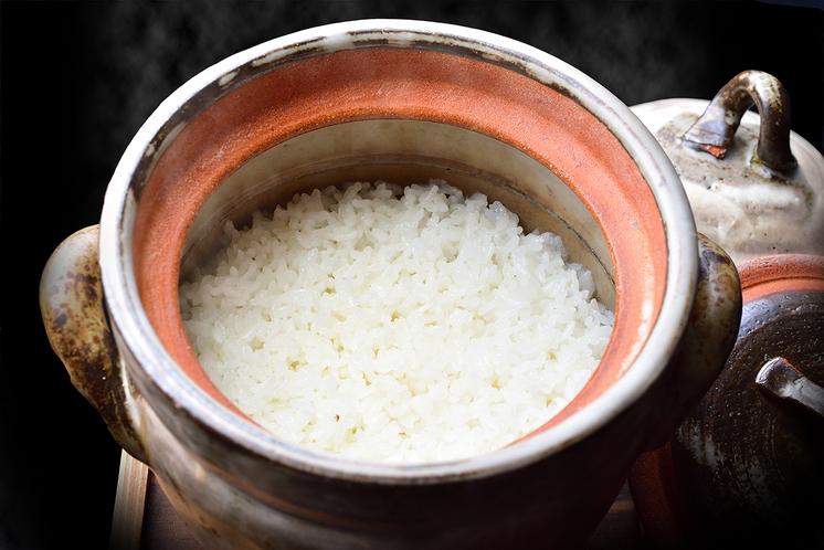 【朝食メニュー】土鍋ごはん
