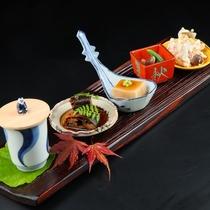 【秋】座付 旬の寄せ小鉢