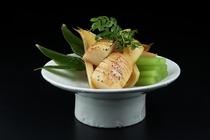 旬菜 焼き筍と蕗のさっと煮