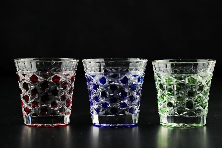 酒器 切子グラス