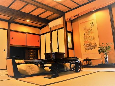 【離れ・デラックス】〜和洋室・ツイン 〜内湯・トイレ付
