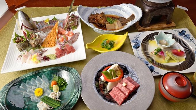 【 お料理グレードアップ 】お食事重視のお客様へ。山口の美味が詰まった<おふるまい会席>に舌鼓。