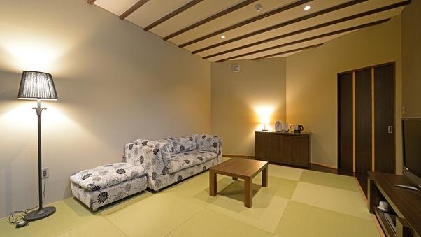 【七之庄(禁煙)】《ダブル・平屋》◆露天風呂付