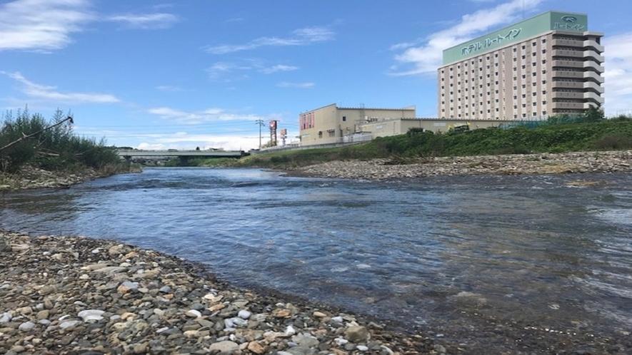 芹川では鮎釣りが楽しめます(春から夏)