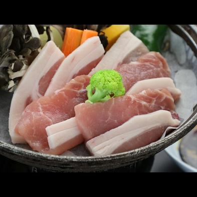 【65歳以上★期間限定】シニア特典付♪メイン料理はブランド豚『上州もち豚』を味わう[1泊2食付]