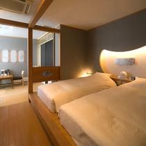 花庵 寝室