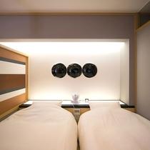 竹庵 寝室