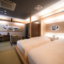 月庵 寝室