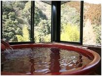 離れ客室 温泉ひとり占め 客室温泉一例