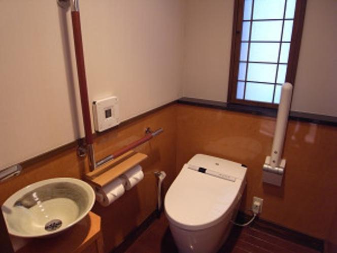 離れ客室 お手洗い 一例