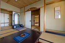 眺涛閣高階層 『特別室 和室二間』