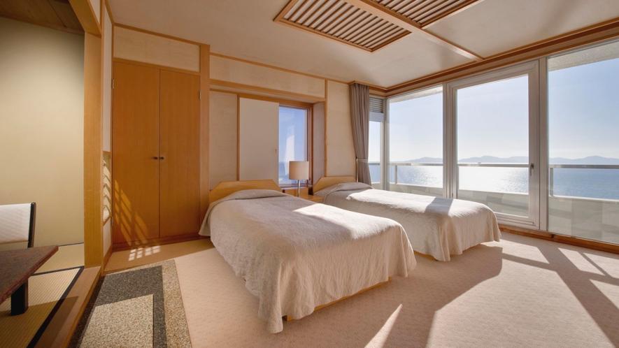 眺涛閣高階層 ◆特別室 和洋室◆(ベット)