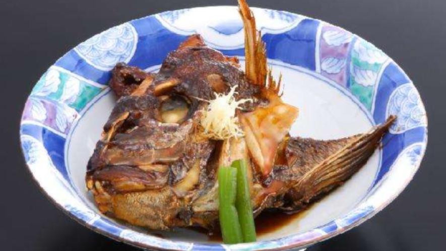 追加料理『タイのかぶと煮』